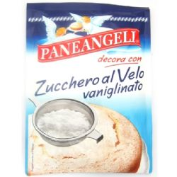 Paneangeli Icing Sugar 125g | Vanilla | Vaniglinato | Buy Online | Italian Ingredients | UK